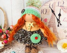 Easter Doll Art doll Textile Tilda doll Fabric doll for home decor & Doll collection Baby Doll Keepsake Gift Presents For Her, Baby Room Decor, Bjd Dolls, Fabric Dolls, Beautiful Christmas, Handmade Toys, Textile Art, Doll Clothes, Etsy Seller