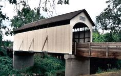 Antelope Creek Bridge, Jackson County Oregon