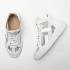 MM6 Maison Martin Margiela Sneakers in White