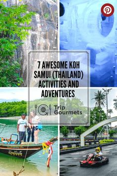 You want to do a bit more than just sunbathing and having massages while being on Koh Samui? Then read our guide to 7 unique and awesome activities to do in this Thai island