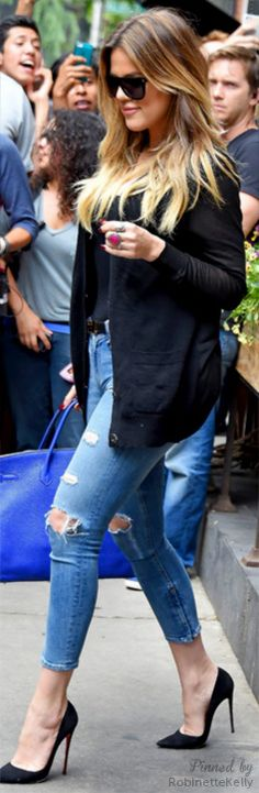 Street Style / Kloe Kardashian