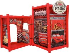 Disney Cars Pit Stop Garage