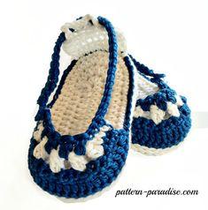 Crochet patrones de botitas de bebé y la cabeza, sandalias náuticas y conjunto…