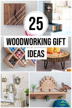 So many great ideas! Love these woodworking gift ideas! Great DIY projects for her, him and kids. These will make perfect handmade Christmas gifts! #anikasdiylife Scrap Wood Projects, Woodworking Projects That Sell, Diy Projects, Diy Gifts For Kids, Diy For Kids, Wooden Diy, Handmade Wooden, Make Your Own Card, Handmade Christmas Gifts
