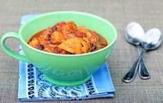 Sweet Potato Chili, looks amazing (complete meal without meat or bad starches)