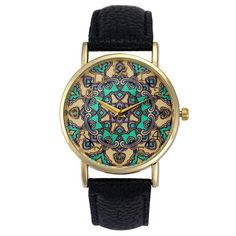 Retro Totem Dial Watch Women Dress Wristwatch Clock Relogio Feminino Women's Casual Sports Watches Men Quartz-Watch Item Type: Wristwatches Case Material: Alloy Dial Window Material Type: Acrylic Dial