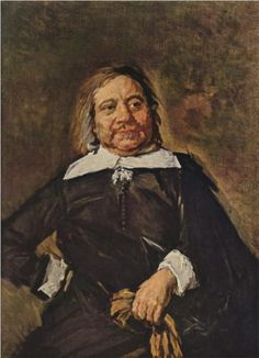 Portrait of Willem Croes - Frans Hals