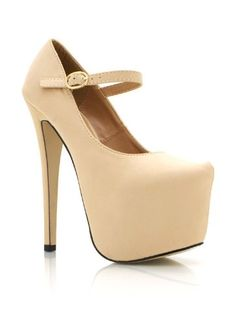 Cool Mary Jane Platform Pumps