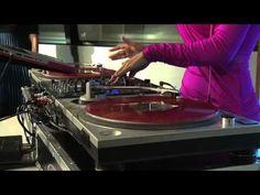 DJ JEN JONES Spinning on 12News for the Golden Globes!