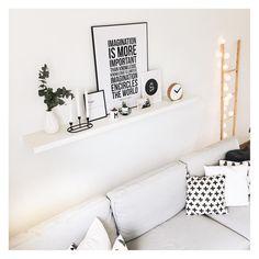 Scandinavian wall gallery with Pixers #motivation #poster  Source: @idoitmyself.be  https://www.instagram.com/p/BT4ezM8AQi1/?taken-by=idoitmyself.be #quotes #home #homedecor #interiordesign