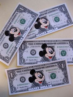 Help your kids save up for a Disney trip by using these Disney Dollars. Give them out as rewards for doing things without being told, being extra kind or however else you deem appropriate. Then when the kids get to Disney World, they can spend their Disney Dollars on special treats! #teachmama #disney #disneytrip #disneyvacation #disneydollars #momtips #freeprintable