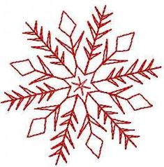 Paper Embroidery Patterns un flocon - Snowflake free embroidery design free embroidery design from Christmas free embroidery collection. For gift and towels. Snowflake Embroidery, Folk Embroidery, Paper Embroidery, Learn Embroidery, Free Machine Embroidery Designs, Christmas Embroidery, Embroidery Stitches, Towel Embroidery, Butterfly Embroidery