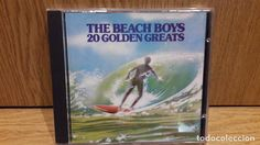 THE BEACH BOYS. 20 GOLDEN GREATS. CD / EMI RECORDS - 20 TEMAS / LUJO.