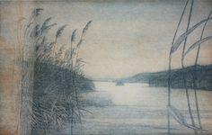 Hetki - Leena Talvitie, printmaker, Finland Finland, Printmaking, Scandinavian, Grey, Painting, Gray, Painting Art, Printing, Paintings
