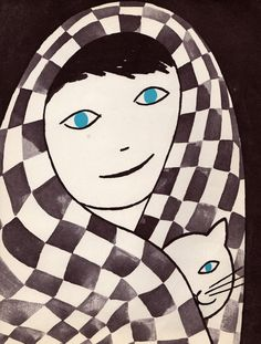 A Day of Winter- written by Betty Miles, illustrated by Remy Charlip (1961).      Via