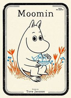 Moomin - by Tove Jansson Tove Jansson, Illustrations Vintage, Illustrations Posters, Les Moomins, Album Jeunesse, Arte Popular, Deco Design, Grafik Design, Children's Book Illustration