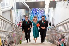 Weddings at The New Children's Museum San Diego. Photo by Blair Nicole Photography.