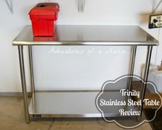 Trinity Stainless Steel Table Review U201dThis Is A Good Quality Stainless  Steel Table. My