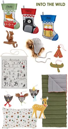 Land of Nod Holiday Trend - Into the Wild via Honesttonod.com