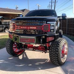 I love this Ford! Lifted Ford Trucks, Chevy Trucks, Pickup Trucks, Ford Diesel, Diesel Trucks, Big Monster Trucks, Ford Powerstroke, Good Looking Cars, Heavy Duty Trucks