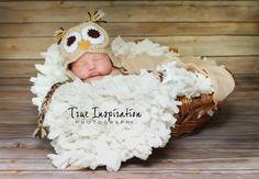 Crochet Owl Newborn Hat Photography Prop by trueinspirationprops, $25.00