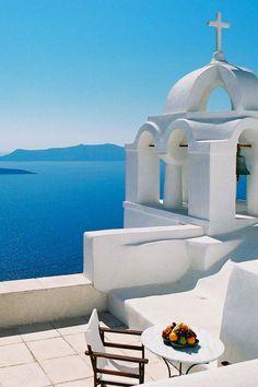 Santorini, Church in Fira - Greece