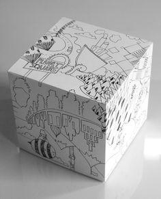 Cube mock up