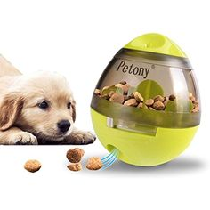 Home Food Reward Machine Dogs With Tennis Ball Interactive Fetch Treat Pet Ball Play Toy Game Iq Training Dropshipping