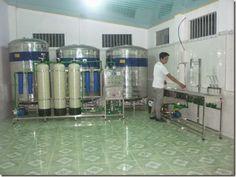 dây chuyền lọc nước tinh khiết công suất 350l/h