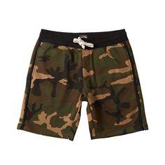 Billabong All Day Short Waves Logo, Camo Men, Woodland Camo, Fleece Shorts, Surf Style, Off Duty, Billabong, Fleece Fabric, Mid Length