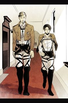 Erwin Smith and Levi