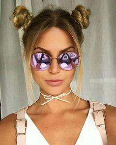 14 pictures that prove the double bun is back - Vogue Australia