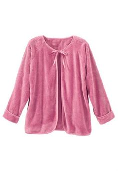 Only Necessities Women's Plus Size Chenille bed jacket (SEA Plus. Plus Size Sleepwear, Sleepwear & Loungewear, Let Your Hair Down, Comfortable Outfits, Plus Size Women, Beautiful Outfits, Plus Size Outfits, Lounge Wear, Style Me