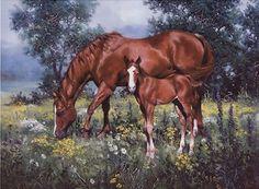 Jack Sorenson - Horse and Foal