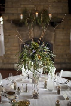 Forest Wedding at Starved Rock State Park from Laura Fisher Photography  Read more - http://www.stylemepretty.com/illinois-weddings/2013/10/24/forest-wedding-at-starved-rock-state-park-from-laura-fisher-photography/