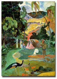 Discover Matamoe by Paul Gauguin. Framed and unframed Paul Gauguin prints, posters and stretched canvases available now. Paul Gauguin, Artist Canvas, Canvas Art, Canvas Size, Jean Leon, Painting Prints, Art Prints, Henri Rousseau, Peacock Art