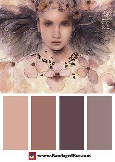 Magical Color Palette: Air de printemps I, Art Print by Elvira Amrhein