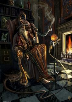 Fire Magic #fantasy #art. Artist unknown.If you are the artist or know them, please tell me so I can attribute the picture.