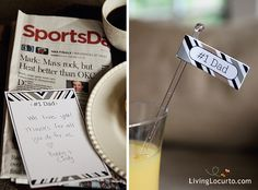 Last Minute Father's Day Gift Ideas {Free Printables}