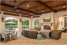 Love the lighter Texas stone, the detail in the firebox, seat, mantel.