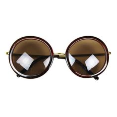 40654e759aeb6a Home    Accessories    Glasses    Vintage Round Lens Sunglasses Eyewear