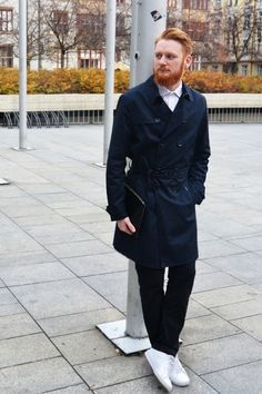 Outfit - Košile: John&Paul https://www.johnpaul.cz/Kosile/Masaryk, Kalhoty: Baronio... - Módnípeklo.cz