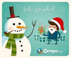 Qempo - Qempito te desea una Feliz Navidad http://www.qempo.com/