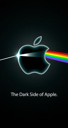 Appleスペクトル黒 iPhone5s壁紙