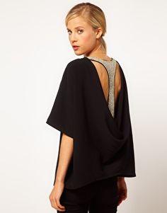 ASOS Drape And Embellished
