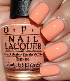 OPI Crawfishin' for a Compliment // @kelliegonzoblog
