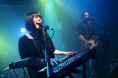 Sarah Barthel / Josh Carter of band Phantogram