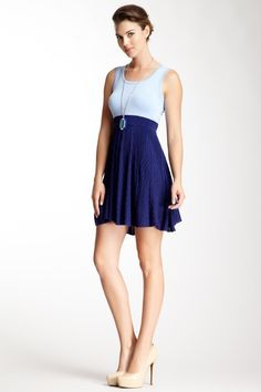 Scoop Neck Dress by Wow Couture on @HauteLook  Love the front, hate the back