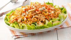NEW Creamy Buffalo Chicken Pasta Salad