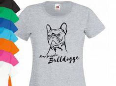Französische Bulldogge Fan KollektionHunderasse Damen T-Shirt: Französische Bulldogge